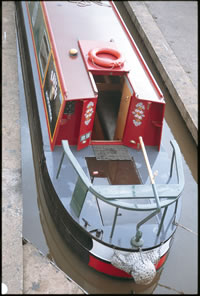 cruiser stern to a narrowboat